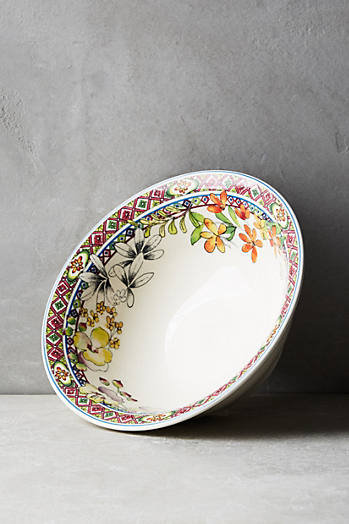 Slide View: 1: Gien Bagatelle Cereal Bowl