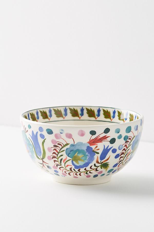 Les Fleurs Bowl - Blue Motif, Size Cerealbowl