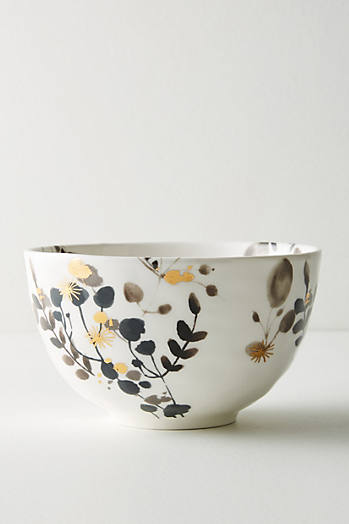 Slide View: 1: Gilded Botany Bowl