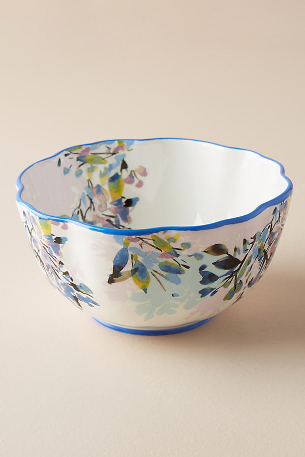 Gardenshire Bowl - Blue Motif, Size Cerealbowl