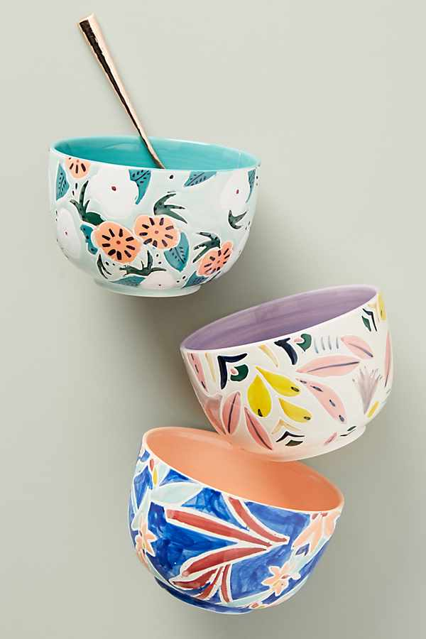 Pretty cereal bowls