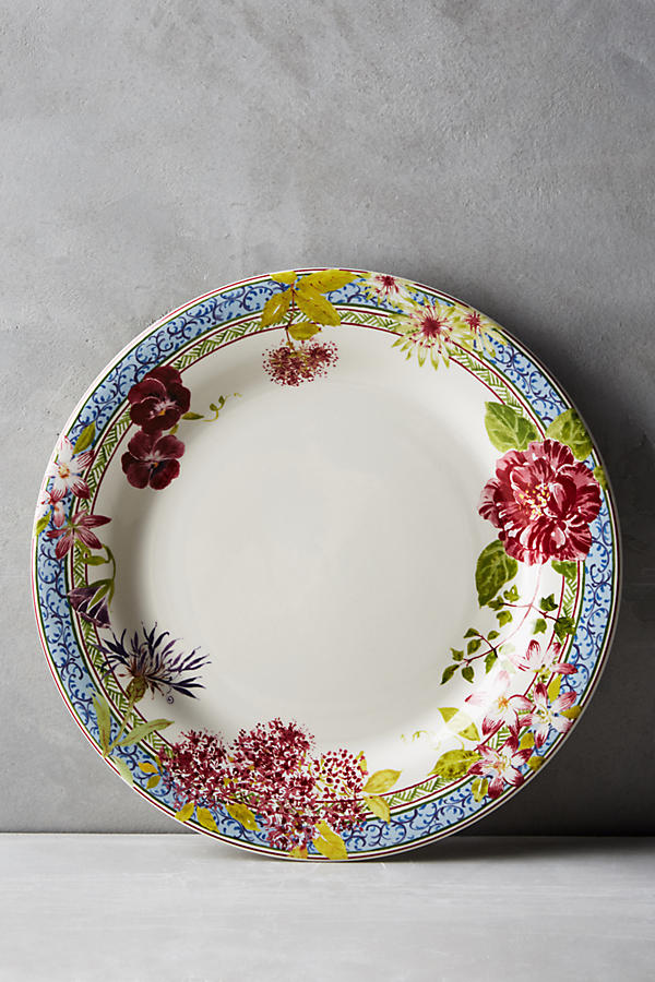 Gien Millefleurs Five-Piece Place Setting