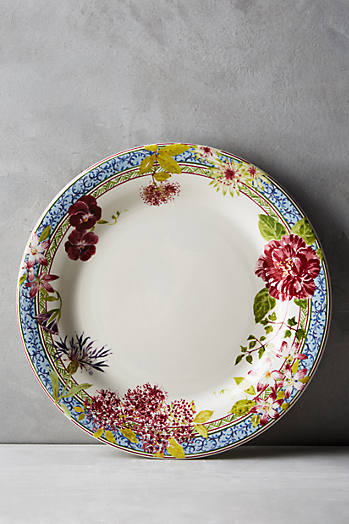 Slide View: 2: Gien Millefleurs Five-Piece Place Setting