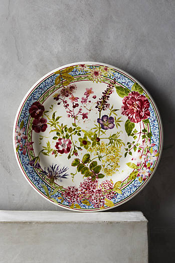 Slide View: 3: Gien Millefleurs Five-Piece Place Setting