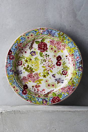 Slide View: 4: Gien Millefleurs Five-Piece Place Setting