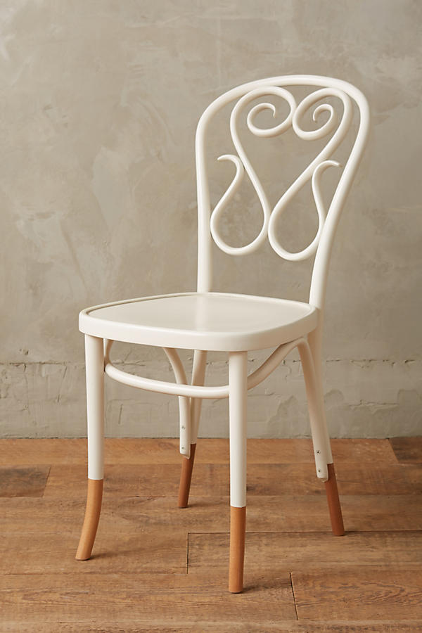 - Scrolled Bentwood Dining Chair, Swan Anthropologie