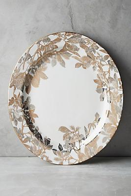 Slide View: 1: Caskata Arbor Rimmed Platter