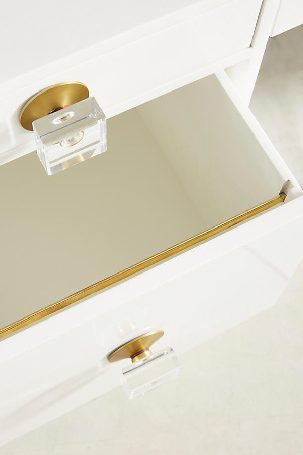 Slide View: 4: Lacquered Regency Desk