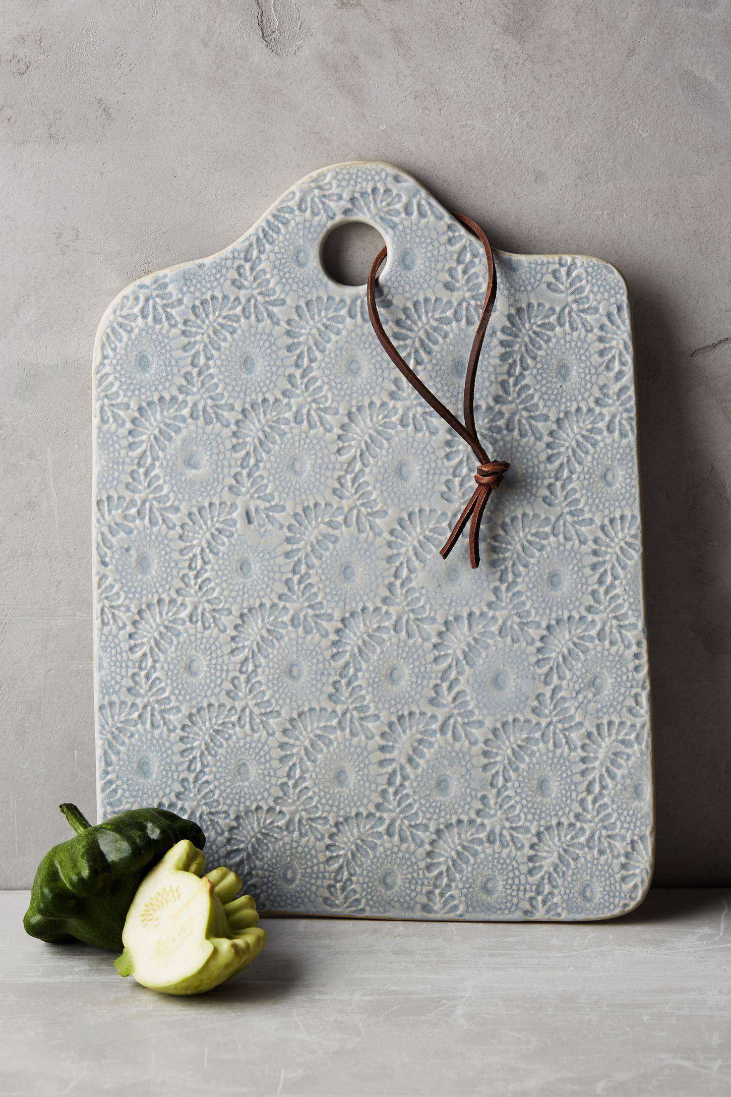 Ceramic Lacework Cheese Board Anthropologie