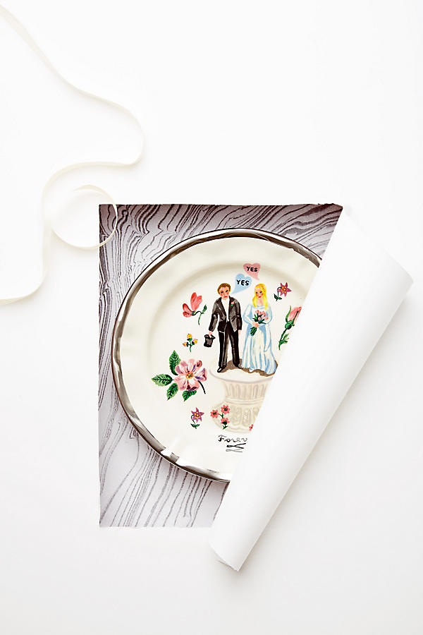 Slide View: 4: Francophile Dinner Plate