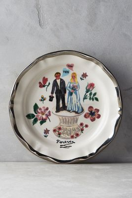fang roberts anthropologie wedding registry shop their registry francophile dinner plate